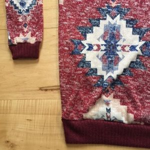 Tops - Aztec print sweater